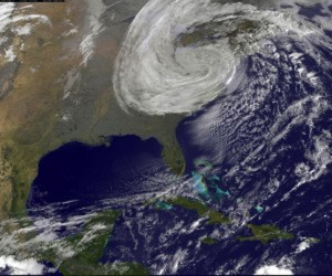 Image of Hurricane Sandy